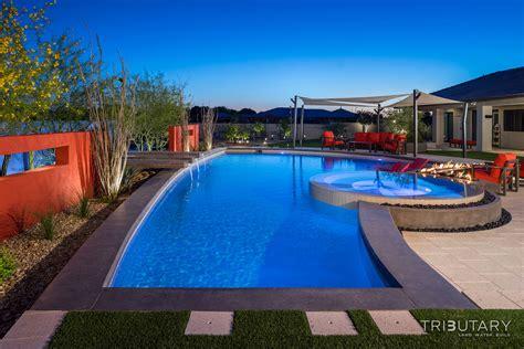 pool photos sleek oasis tributary pools spas
