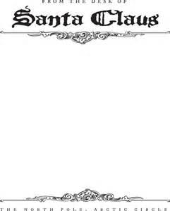 santa letterhead template free santa letterhead template for pdf