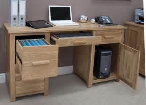 Large Office Desks Eton Solid Oak Furniture Large Office Computer Desk