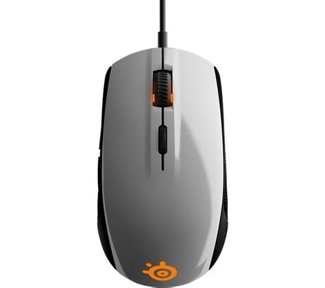 Mouse Steelseries Rival 100 steelseries rival 100 optical gaming mouse white deals pc world