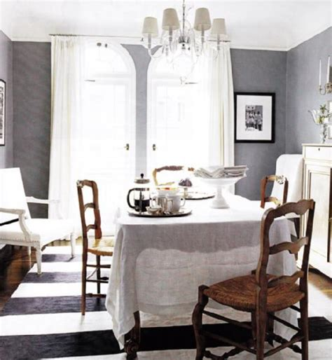 gray dining room gray rooms contemporary dining room elle decor