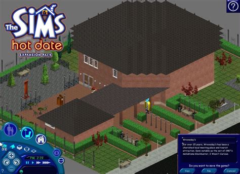 best free game mod center download mod the sims sims 1 4 wrensday s museum from hot date