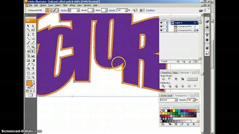 illustrator tutorial offset path offset path 2017 01 31