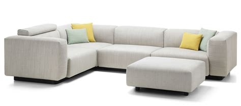 Vitra   Soft Modular Sofa Three seater, corner element