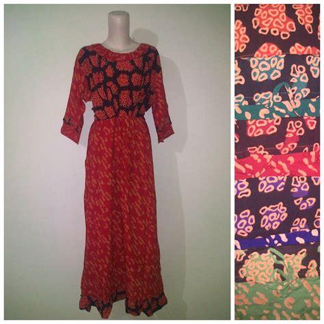 Longdress Maura Mata Batik Pekalongan Daster Dress Baju Tidur batik modern sekdress maura ver 2 pusat grosir baju
