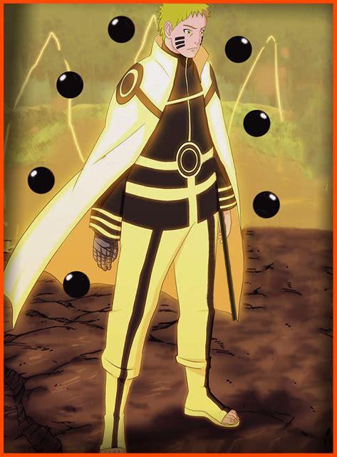 Jaket Anime Rikudou Mode boruto 21 the right way six paths mode