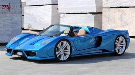 Handmade Sports Car - montecarlo automobile svela la rascasse alimentata a gas