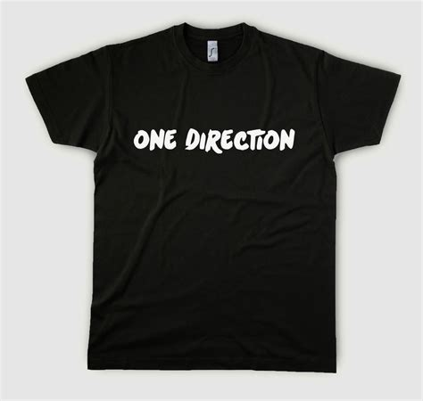 1d Shirt Black 1d shirt one direction shirt 1d shirts one direction