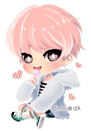 imagenes uñas kawaii chibi bts spring day pictures to pin on pinterest pinsdaddy
