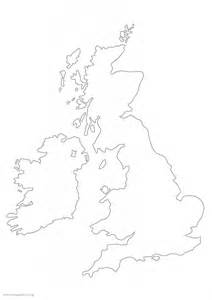 Large Outline Map Of Uk by Large Isles Map Outline 163 5 99 Cosmographics Ltd