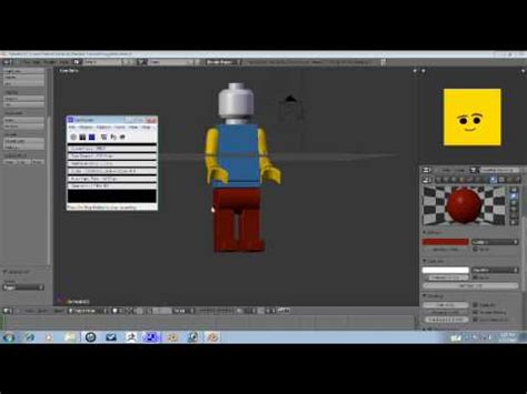 tutorial lego blender blender tutorial lego man part 4 4 youtube