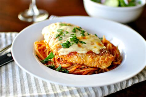 Veal Parm by Chicken Parmesan