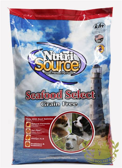 nutrisource food nutrisource grain free seafood select food