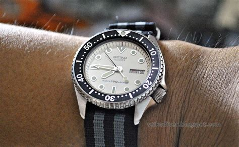 K Sq Seiko Diver 6309 seiko diver seiko quartz diver 6458 600b mid sized white