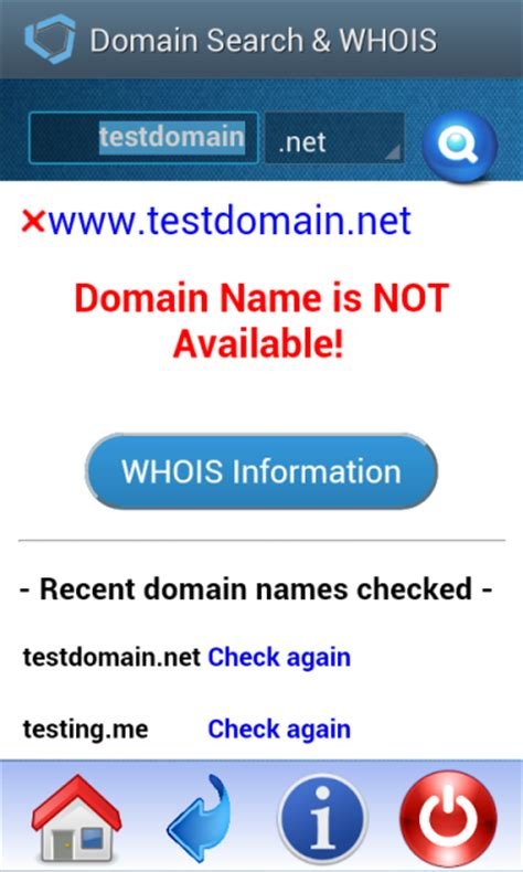 domain  search  apk  android aptoide