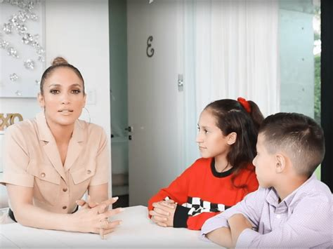 jennifer lopez twins emme  max put   hot seat  youtube interview video