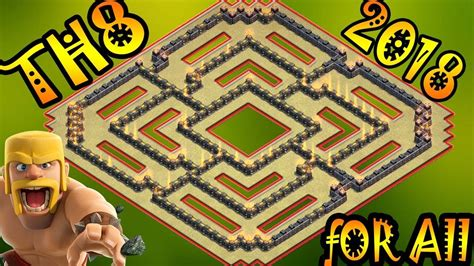 ultimate th8 layout ultimate town hall 8 th8 for all 2018 new best th8
