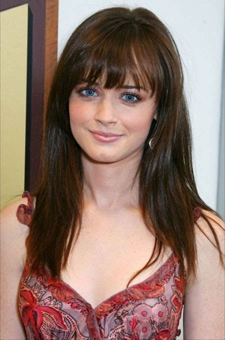 haircut for round face long hair with bangs 15 modern medium length haircuts with bangs layers for