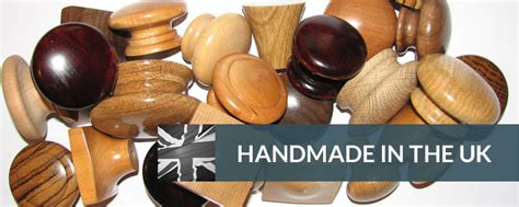 Handmade In Uk - wooden knobs and handles