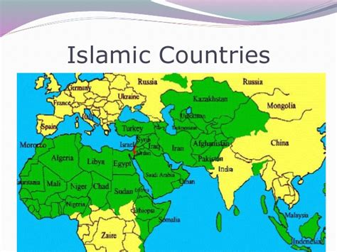 middle east map muslim countries is the biased spinning reel