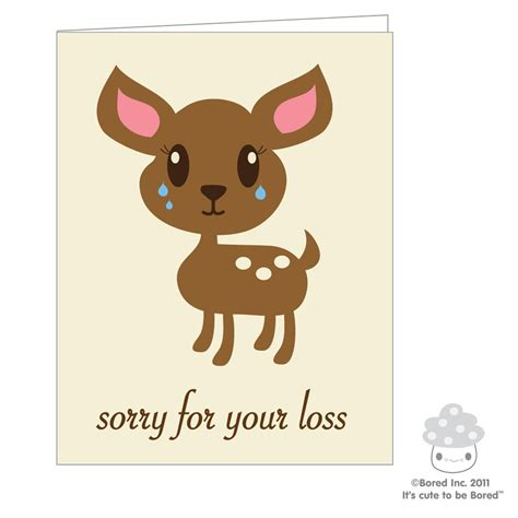 sorry for your loss sorry for your loss card