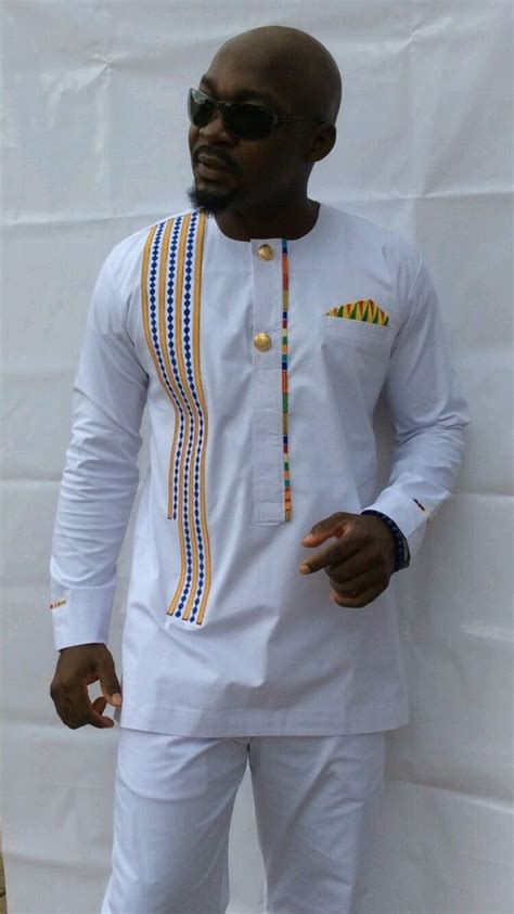 men wear african details about odeneho wear men s polished cotton top