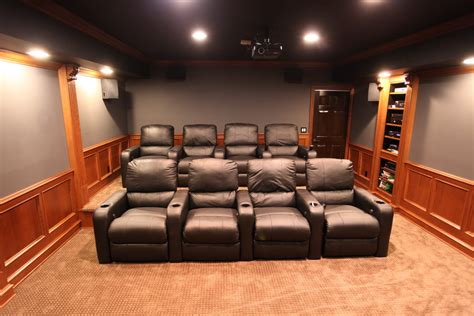home theater decor mhi interiors theater room novi mi