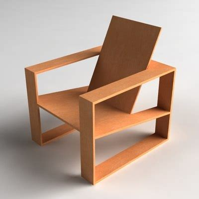 Contemporary Easy Chair Design Ideas Modern Wooden Lounge Chair 3d Model