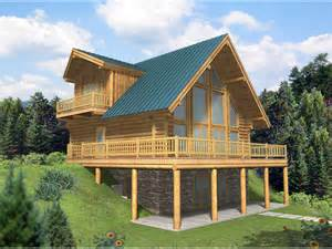 Log Home Basement Floor Plans by Leola Raised A Frame Log Home Plan 088d 0046 House Plans