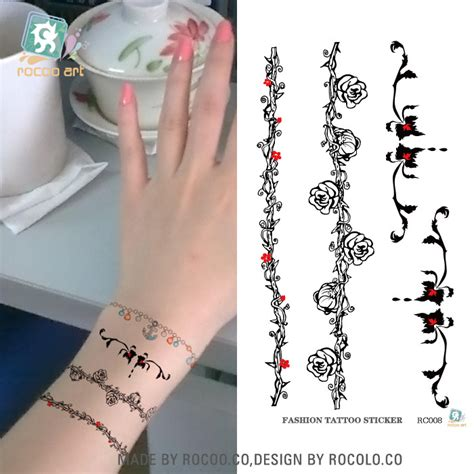 Compare Prices on Temporary Tattoos Flowers  Online Shopping/Buy Low Price Temporary Tattoos