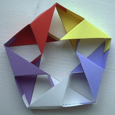 How To Make A Paper Moving Cube - image gallery moving origami