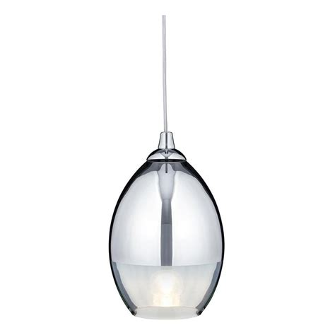 Modern Pendant Lights Uk 9681cc Modern Chrome Glass Pendant Ceilinglight Lighting From The Home Lighting Centre Uk