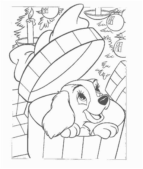 free coloring pages of lady and the tr