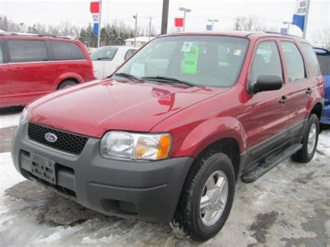 2003 ford escape specs 2003 ford escape xls v6 4wd data info and specs