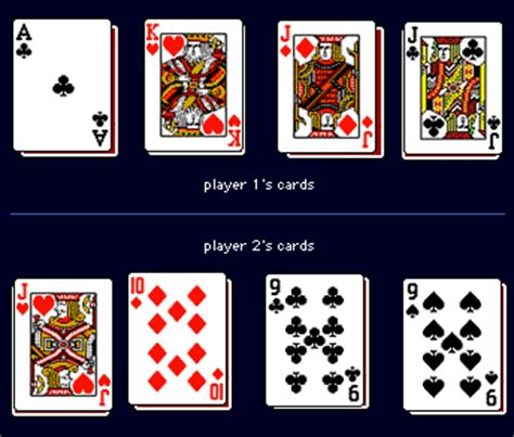 rules for two handed euchre euchre for two players