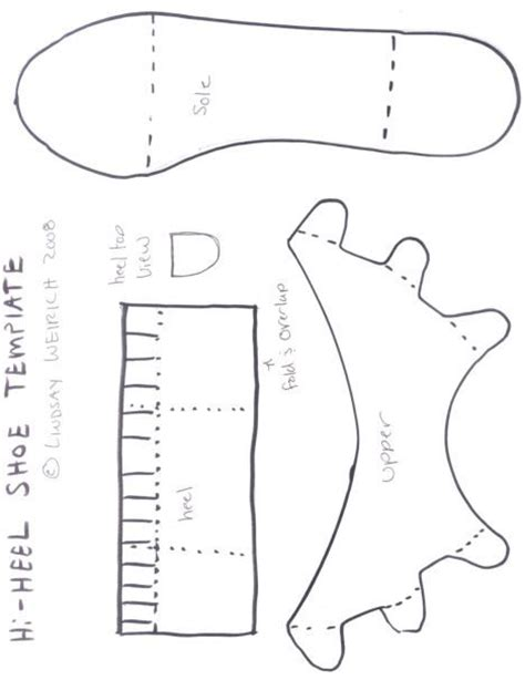 How To Make Paper Shoes Templates - paper shoes birds and zapatos on