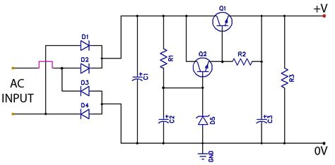 low ripple regulated power supply diagram wiring jope