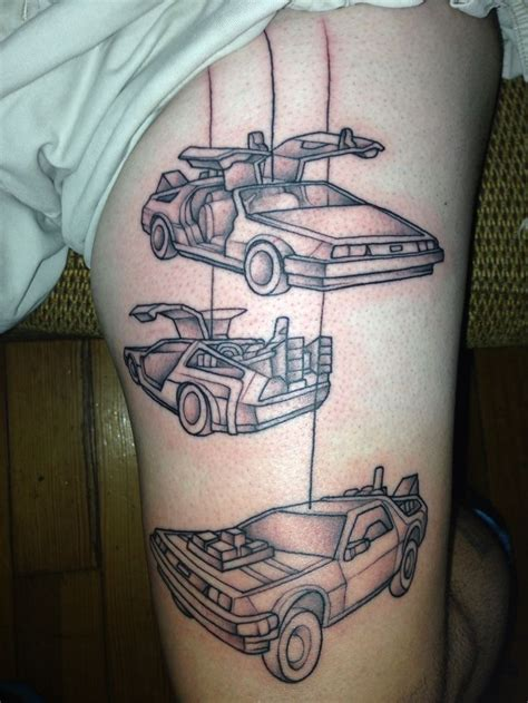 back to the future tattoo 132 best images about cool tattoos on