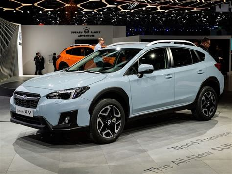 subaru crossover blue 2018 subaru crosstrek engine redesign and release date