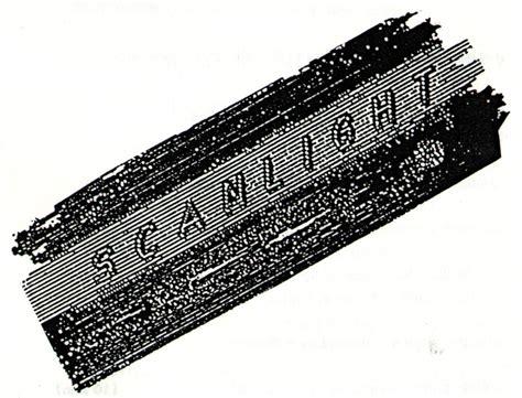 section separator scanlight new developments in video art scanlines