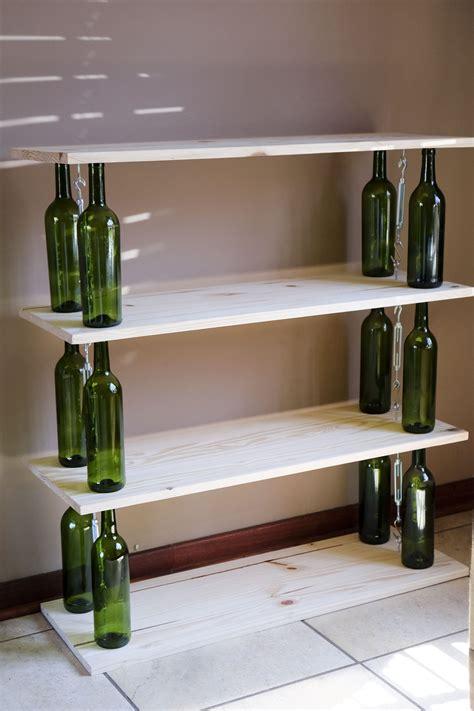 wine bottle bookshelf the best shelf design