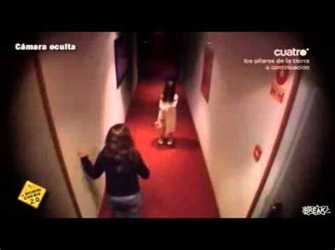 haunted doll prank creepy in hotel hallway prank
