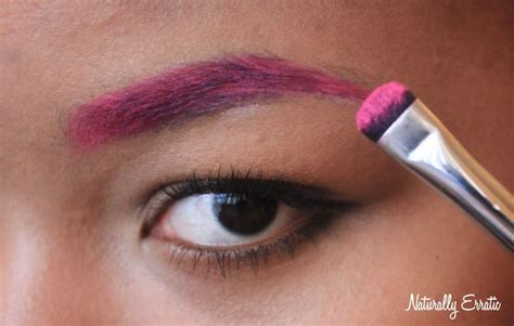 colored brows vibrant colored brows 183 how to makeover an eyebrow
