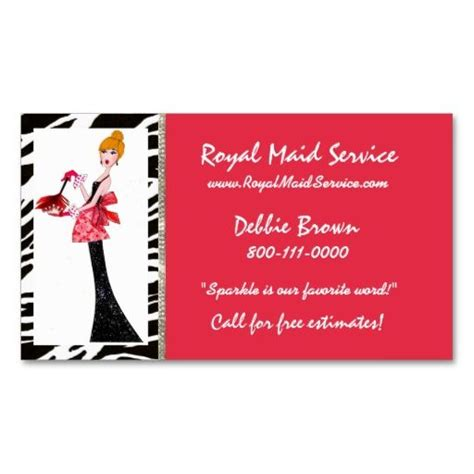 147 best house cleaning business cards images on pinterest