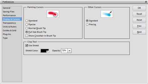 reset tool in photoshop how to change the shape of the brush icon in photoshop