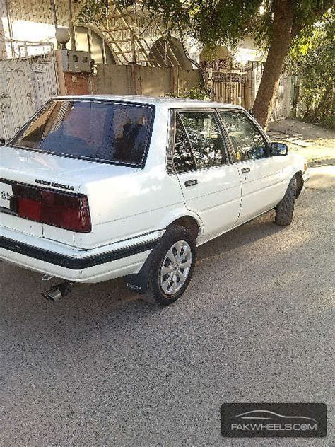 1985 Toyota Corolla For Sale Used Toyota Corolla 1985 Car For Sale In Islamabad