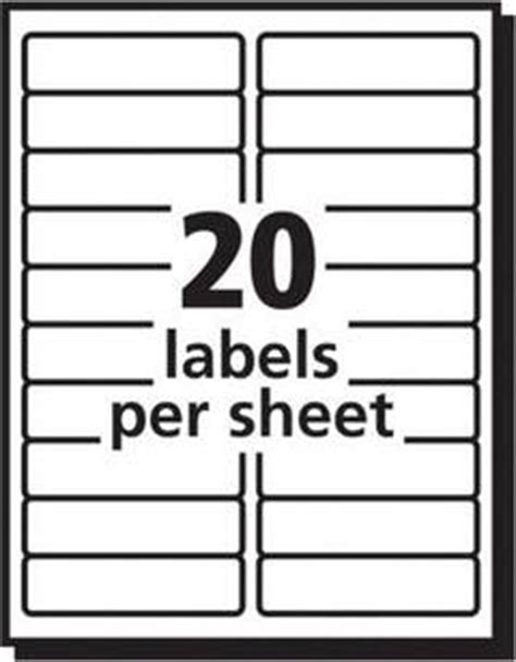 avery white laser address labels 1 x 4 box of 500 by