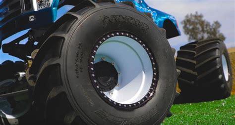 pro  devastator solid axle monster truck tire video