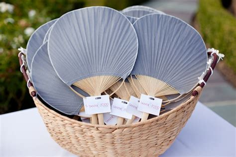 Wedding Fans by 15 Ways To Welcome Your Wedding Guest The Magazine