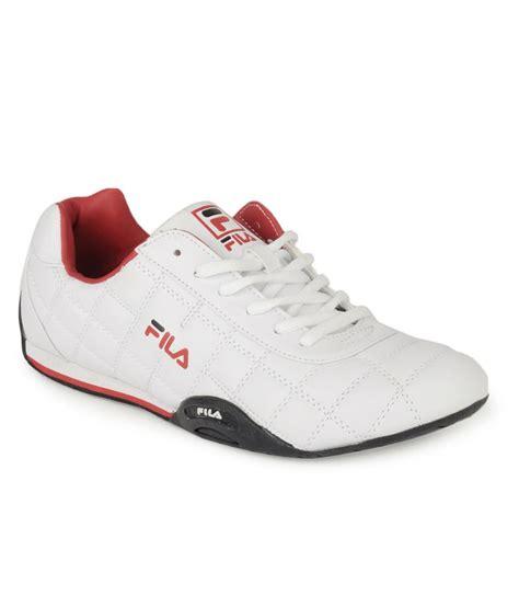 fila white sneaker casual shoes price in india buy fila